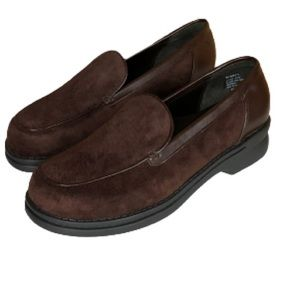 AJ Valenci NWOT leather suede loafers shoes size 8